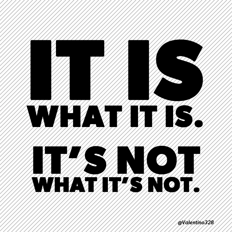 it is what it is no more no less fro 14 lc10